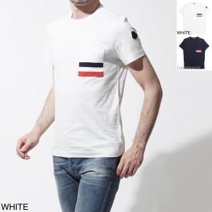 モンクレール MONCLER クルーネック Tシャツ ホワイ...