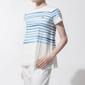 モンクレール MONCLER クルーネックTシャツ ホワイト...