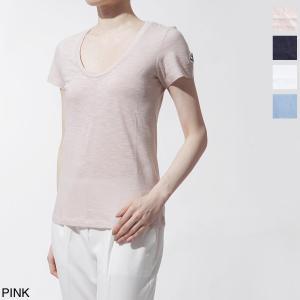 モンクレール MONCLER UネックTシャツ レディース 8067200-82857-529|mb-y
