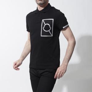 モンクレール MONCLER C ポロシャツ ブラック メン...