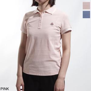 モンクレール MONCLER ポロシャツ MAGLIA POLO MANICA CORTA レディース 8386000-84667-529|mb-y