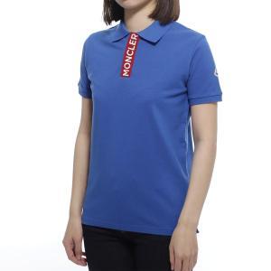 モンクレール MONCLER ポロシャツ ブルー レディース 8a70720-8496w-711|mb-y