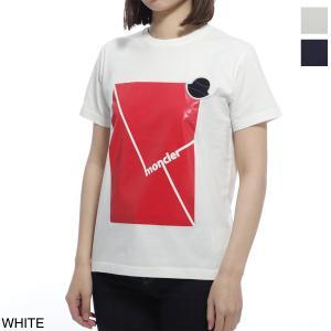 モンクレール MONCLER クルーネックTシャツ レディース 8c70220-83907-034|mb-y