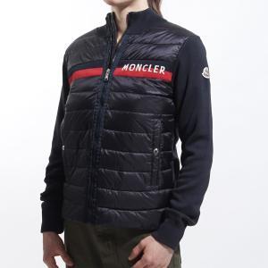 モンクレール MONCLER ダウン入りジップジャケット ブルー レディース 9400405-v9003-742|mb-y