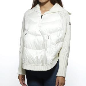 モンクレール MONCLER ダウン入りセーター MANTELLA ホワイト レディース 9950305-a9152-034|mb-y