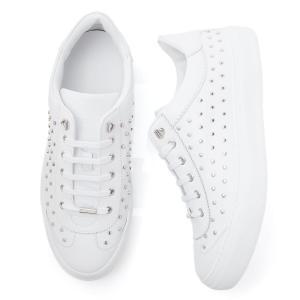 ジミーチュウ JIMMY CHOO スニーカー ホワイト メンズ スタッズ レザー シューズ ace-ood-white-silver ACE OOD 184 エース エイス|mb-y