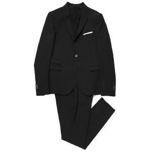 ニールバレット NeIL BarreTT 2つボタン スーツ 大きいサイズあり ブラック メンズ bab127-p026-01|mb-y