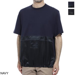 ニールバレット NeIL BarreTT クルーネックTシャツ Fit Easy Blouson メンズ bjt745c-n514-466|mb-y