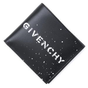 ジバンシー GIVENCHY 2つ折り財布 ブラック メンズ bk6005k0ea-004|mb-y