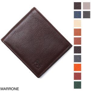 イルビゾンテ IL BISONTE 2つ折り 財布 小銭入れ付き  メンズ c0487-m-p-869-marrone|mb-y