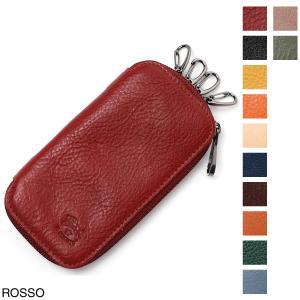 イルビゾンテ IL BISONTE キーケース メンズ レディース c1141-ep-245g-rosso|mb-y