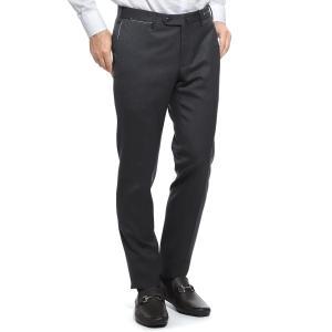 ピーティーゼロウーノ PT01 ノープリーツ スラックス ウールパンツ ビジネス スーパースリムフィット グレー メンズ codf01z00cl1-co26-250|mb-y