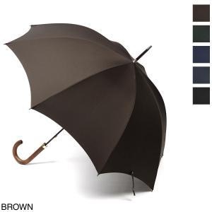 フォックスアンブレラズ FOX UMBRELLAS 傘 GT1 Polished Hardwood Handle Umbrella メンズ gt1-darkgrained-brown|mb-y