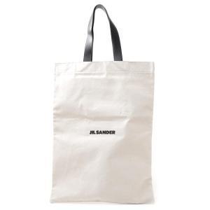 ジルサンダー JIL SANDER トートバッグ FLAT SHOPPER LG ショッピングバッグ ホワイト メンズ jsmp850122-mpb73006-102|mb-y