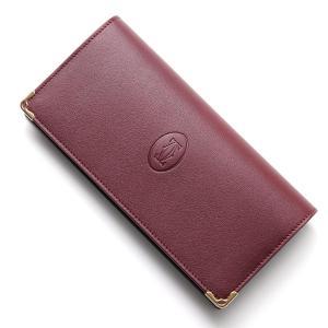 カルティエ Cartier 長財布 小銭入れ付き レッド メンズ レディース 財布 ウォレット ギフト プレゼント l3001362-borde