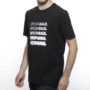 ボーラ― BALR. クルーネックTシャツ LIFEOFABALR ブラック メンズ fading-lifeofabalr-tshirt-black|mb-y