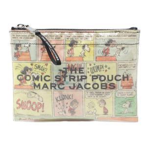 ザ マーク ジェイコブス THE MARC JACOBS ポーチ The Comic Strip Plastic Pouch マルチカラー レディース m0015100-270|mb-y