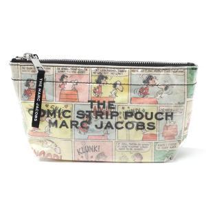 ザ マーク ジェイコブス THE MARC JACOBS ポーチ The Comic Strip Large Cosmetic マルチカラー レディース m0015101-270|mb-y
