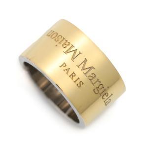 メゾンマルジェラ Maison Margiela リング 指輪 11 女性と男性のためのアクセサリーコレクション ゴールド メンズ sm1uq0027-s12698-964|mb-y