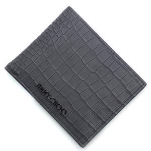 ジミーチュウ JIMMY CHOO 2つ折り 財布 MARK CRK 173 マーク グレー メンズ mark-crk-slate|mb-y