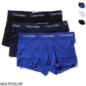 カルバンクライン / Calvin Klein / ボクサーパンツ 3枚セット モデル:3 LOW ...