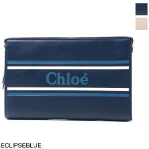 クロエ Chloe ポーチ VICK クラッチバッグ レディース chc19sp068a88-49z-eclipseblue|mb-y