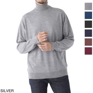 ジョンスメドレー JOHN SMEDLEY タートルネック セーター RICHARDS リチャーズ 30ゲージ ハイネックセーター メンズ richards-indigo|mb-y