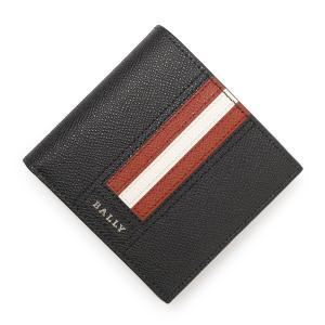 バリー BALLY 2つ折り 財布 小銭入れ付き TEISEL ブラック メンズ teisel-lt-10|mb-y