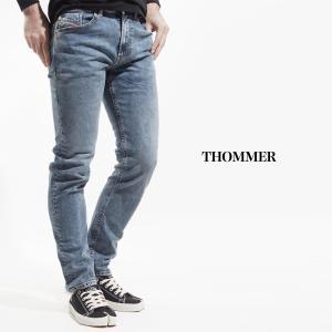 ディーゼル DIESEL ジーンズ THOMMER トマー ブルー メンズ thommer-00sw1q-084ux|mb-y