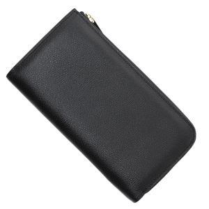 ヴァレクストラ Valextra ラウンドファスナー 長財布 小銭入れ付き ブラック メンズ v9l24-28-n-nero|mb-y