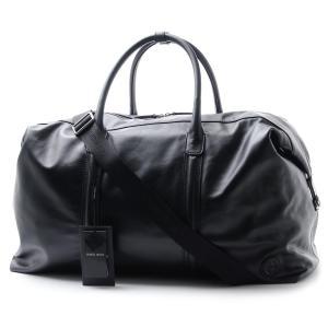 ジョルジオアルマーニ GIORGIO ARMANI ボストンバッグ 2WAY ブラック メンズ 黒 ホールドオール ブラック ボストン バッグ 大容量 y2q136-ycr2j-80001