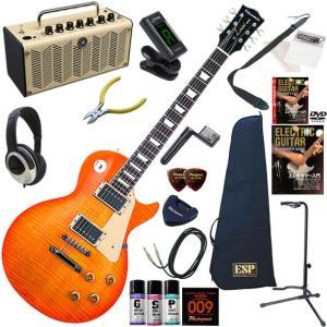 エレキギター 初心者 入門セット EDWARDS エドワーズ E-LP-125SD/VHB 多機能・...