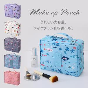 化粧ポーチ 使いやすい メイクポーチ コスメポーチ 大容量 コンパクト 小さめ 機能的 メイク道具 ...
