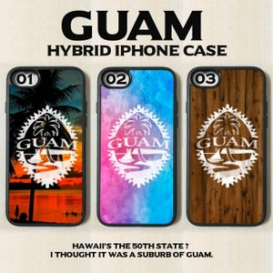 iPhone  - Guam グアム Tropical トロピカル ソフトハイブリッド ケース カバ...