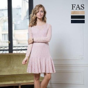 【FAS :fille a suivre】 FAS-5 フランス パリ ワンピース スプリング/サマー新作 mcb-apparel