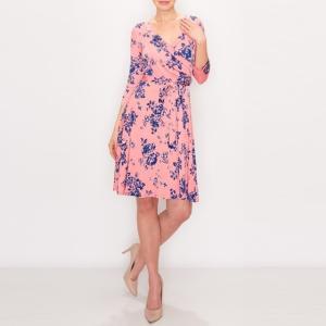JANETTE ジャネット JANE-44-45 LA ジャージーワンピース 七分袖 2020新作|mcb-apparel