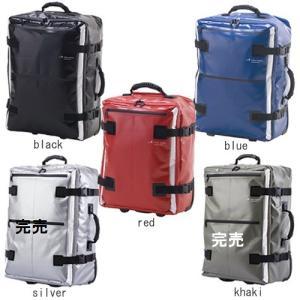 HIDEO WAKAMATSU ドルフィン ターポリンキャリーケース Sサイズ 26L 2〜4泊用 85-74121(ブラック)