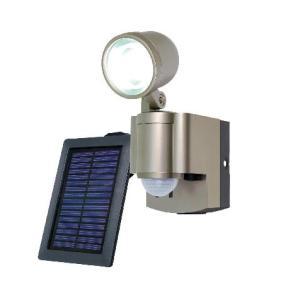 ELPA(エルパ) ソーラー 3W LEDセンサーライト1灯 ESL-301SL