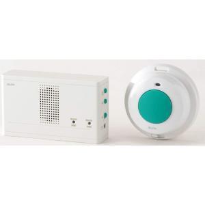 ELPA(エルパ) 特定省電力ワイヤレスチャイム 防水押ボタン送信器セット EWS-1004