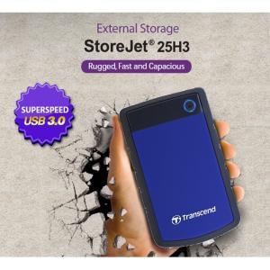【正規販売店】トランセンド(Transcend) USB3.0 ポータブルHDD StoreJet 2.5インチ  2TB TS2TSJ25H3B|mcodirect|02