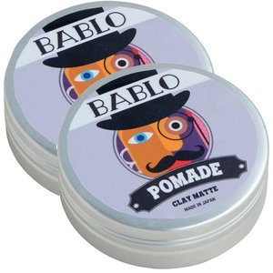 送料無料 バブロ ポマード BABLO POMADE クレイマット 130g 2個セット メンズ 整...