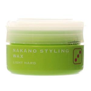 スタイリング剤 メンズ ワックス ナカノ スタイリングワックス 3(ライトハード)90g