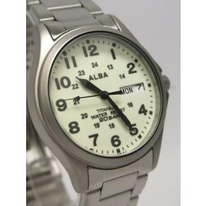 【7年保証】セイコー(SEIKO)アルバ メンズ 男性用腕時計 チタンケース【APBT205】(国内正規品)|mcoy