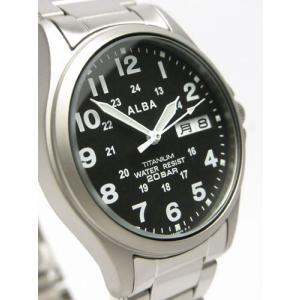 【7年保証】セイコー(SEIKO)アルバ メンズ 男性用腕時計 チタンケース【APBT207】(国内正規品)|mcoy