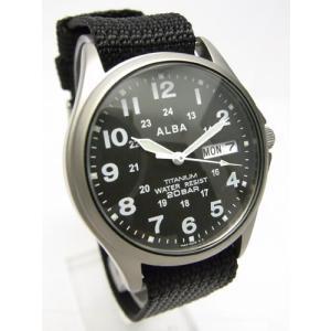 【7年保証】セイコー(SEIKO)アルバ メンズ 男性用腕時計 チタンケース【APBT211】(国内正規品)|mcoy