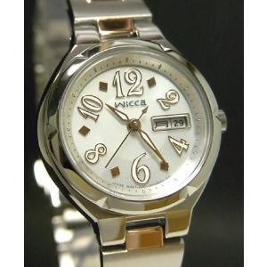 【7年保証】シチズン(CITIZEN)レディース 女性用   ソーラーテック腕時計 ウィッカ(wicca) 【KH3-011-91】(国内正規品)|mcoy