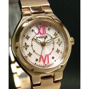 【7年保証】シチズン(CITIZEN)レディース 女性用   ソーラーテック腕時計 ウィッカ(wicca) 【NA15-1725E】(国内正規品)|mcoy
