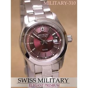スイスミリタリー腕時計 レディース エレガント・プレミアム【MILITARY-310】|mcoy