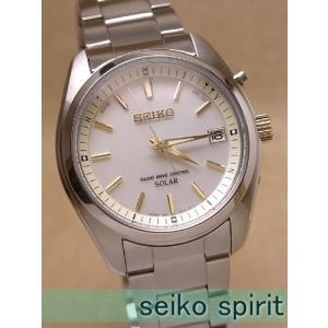 【7年保証】送料無料!セイコー(SEIKO)スピリット(SPIRIT) メンズ 男性用ソーラー電波腕時計【SBTM157】 (国内正規品)【02P27Sep14】|mcoy