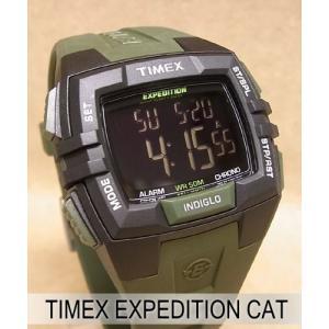 【7年保証】TIMEX(タイメックス) メンズ 男性用腕時計 EXPEDITION CAT 【T49903】(国内正規品)|mcoy